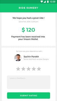 Vroom User - Template screenshot 5