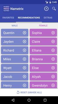 Baby Names by Nametrix screenshot 4