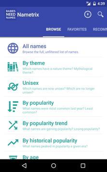Baby Names by Nametrix screenshot 7