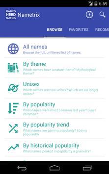 Baby Names by Nametrix screenshot 13