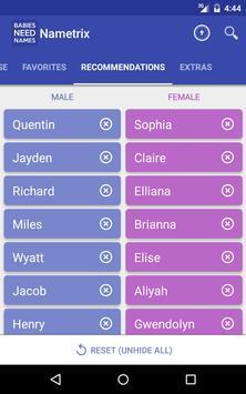 Baby Names by Nametrix syot layar 10