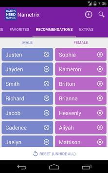 Baby Names by Nametrix screenshot 16