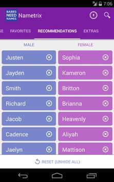 Baby Names by Nametrix syot layar 16