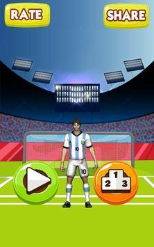 Lionel Messi Juggling poster