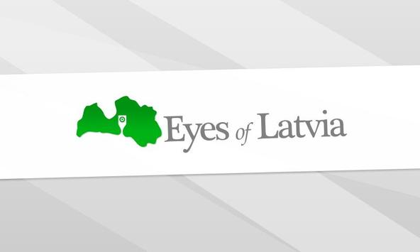 Eyes of Latvia Affiche