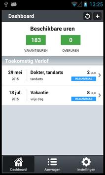 VerlofApp screenshot 1