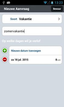 VerlofApp screenshot 3