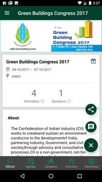Green Buildings Congress 2017 poster