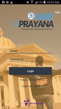 Lead Prayana poster