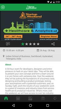 Startup Weekend Hyderabad screenshot 2