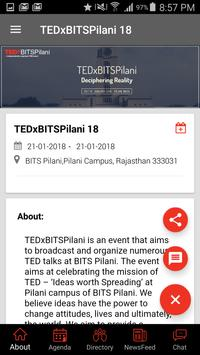 TEDxBITS Pilani apk screenshot