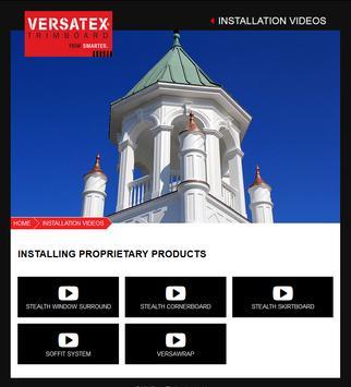 Versatex Contractor Handbook apk screenshot