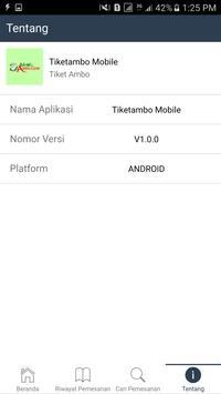 Tiketambo Mobile screenshot 1