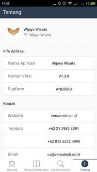Wijaya Wisata screenshot 5