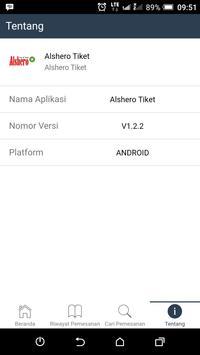 ALSHERO tiket screenshot 4