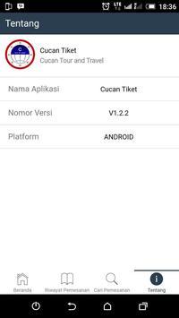 Cucan Tiket Mobile apk screenshot