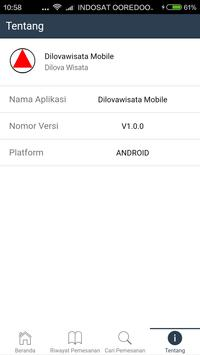 Dilovawisata Mobile screenshot 3