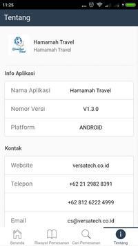 Hamamah Travel apk screenshot