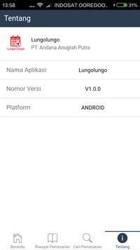 Lungolungo apk screenshot