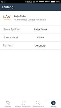Radja Ticket screenshot 4