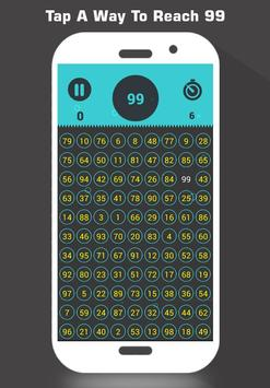 Tap 99 Number - Touch Game apk screenshot