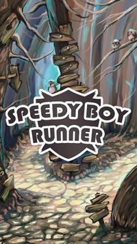 SpeedyBoy Runner poster