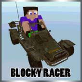 Blocky Racer icon