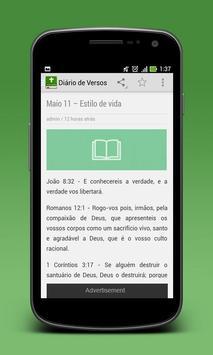 Versículos Do Dia em Português screenshot 1