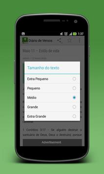 Versículos Do Dia em Português screenshot 2