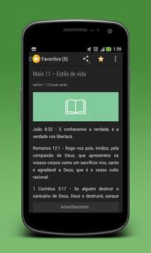 Versículos Do Dia em Português screenshot 5