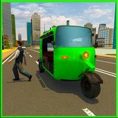 City Rickshaw Driving Sim icon