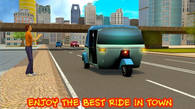City Rickshaw Driving Sim apk screenshot