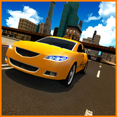 City Taxi Driver 3D icon