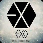 EXO HD Wallpaper Locker icon