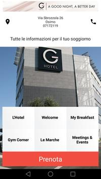 G Hotel Ancona poster