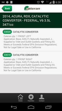 Cateran Catalytic Converters screenshot 2