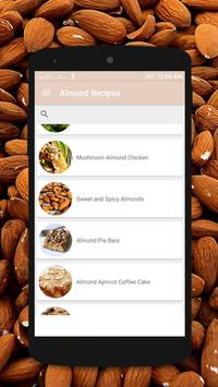 Almond Recipes - Almond Food poster