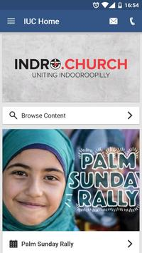 Indooroopilly Uniting Church poster
