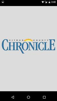 Citrus County Chronicle poster