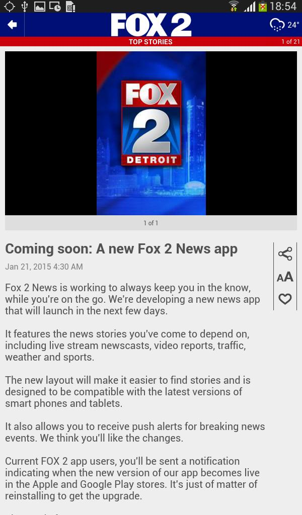 FOX 2 Detroit for Android - APK Download