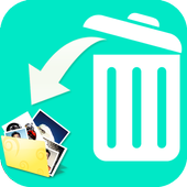 Restore all deleted photos icon