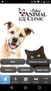 Midland Animal Clinic poster