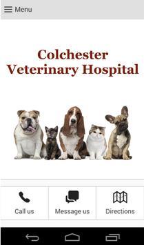 Colchester Veterinary Hospital poster