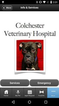 Colchester Veterinary Hospital apk screenshot