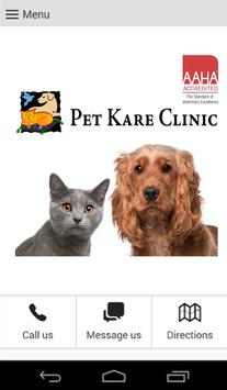 Pet Kare Clinic screenshot 1