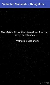 Vethathiri Maharishi - Thought for the Day poster