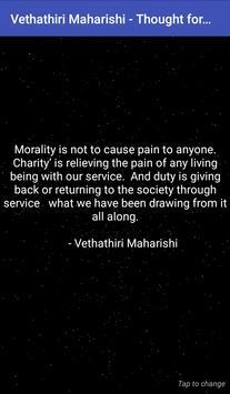 Vethathiri Maharishi - Thought for the Day screenshot 1