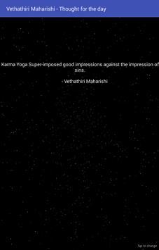 Vethathiri Maharishi - Thought for the Day screenshot 3