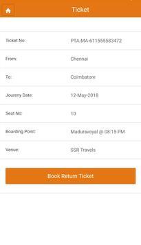 Vetri Travels screenshot 6