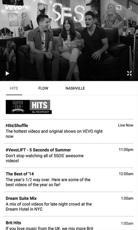 Vevo - Watch HD TV Music Video for Android - APK Download